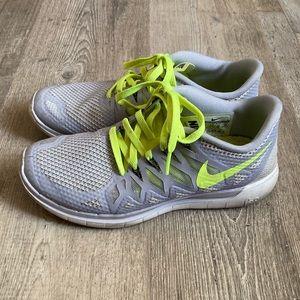 Nike freeruns.